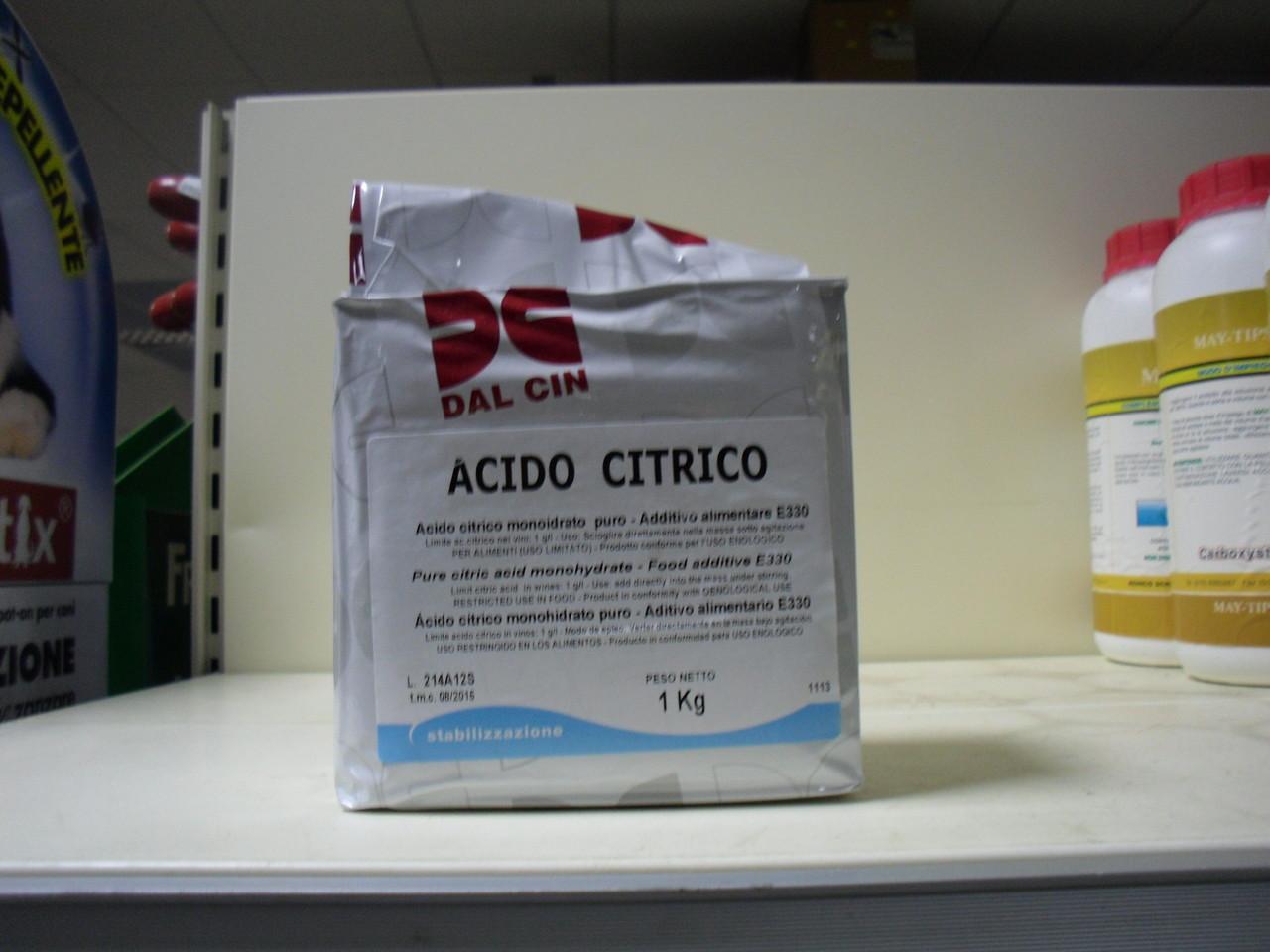 immagine acido citrico