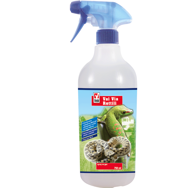 VaiVia rettili spray flacone 750 ml