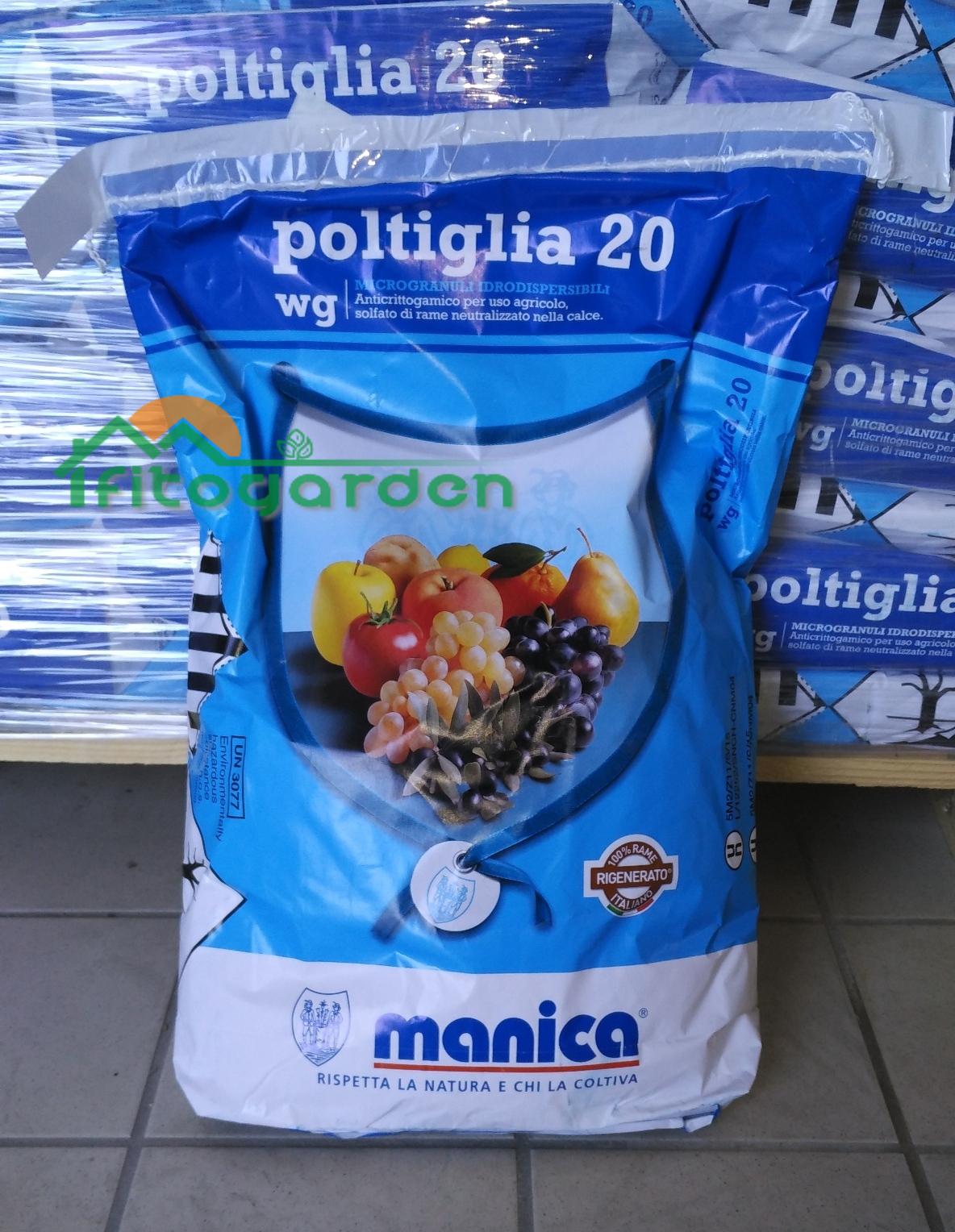 poltiglia bordolese 1kg  Poltiglia bordolese 20 Wg - MANICA - Fitogarden